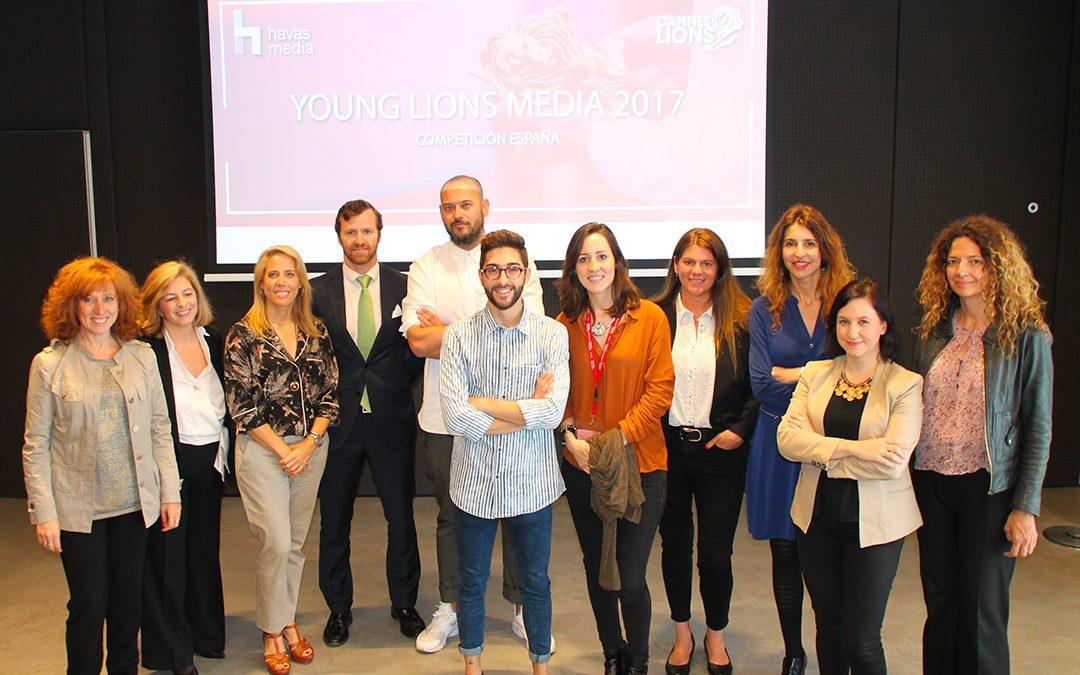 Ganadores de la Competición española Young Lions Media 2017