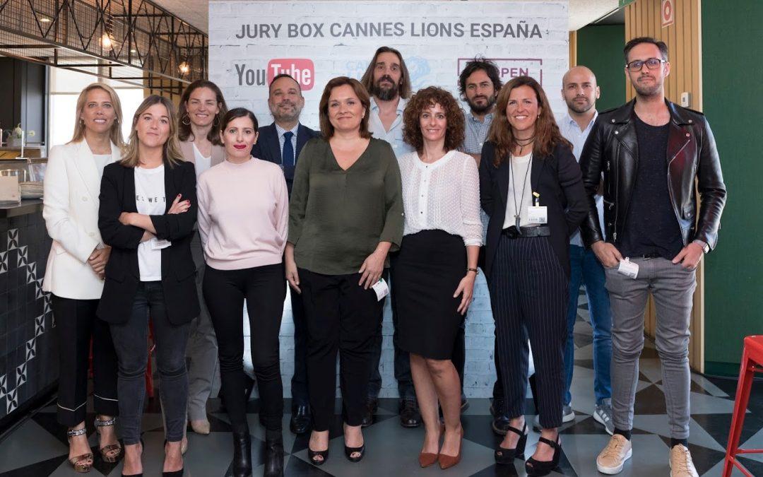 Presentación oficial del Jurado Español de Cannes Lions 2017 en el Jury Box #2